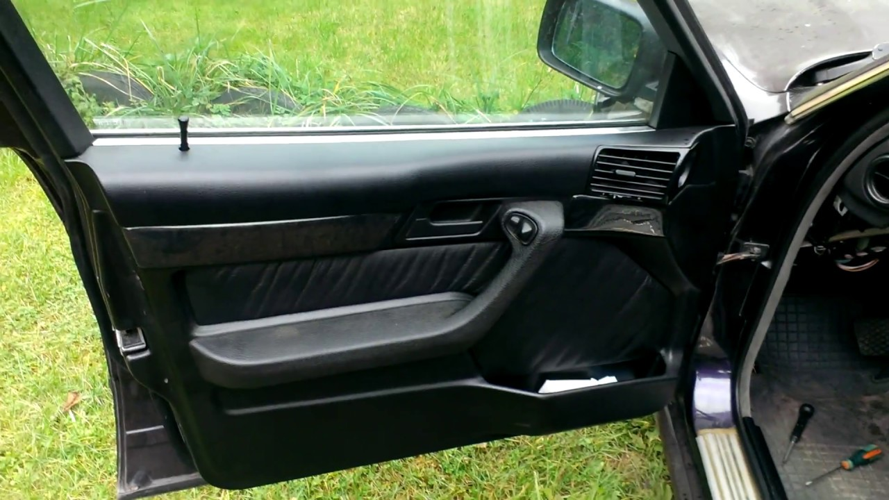 БМВ Е34 Ремонт электро стеклоподъемника BMW E34
