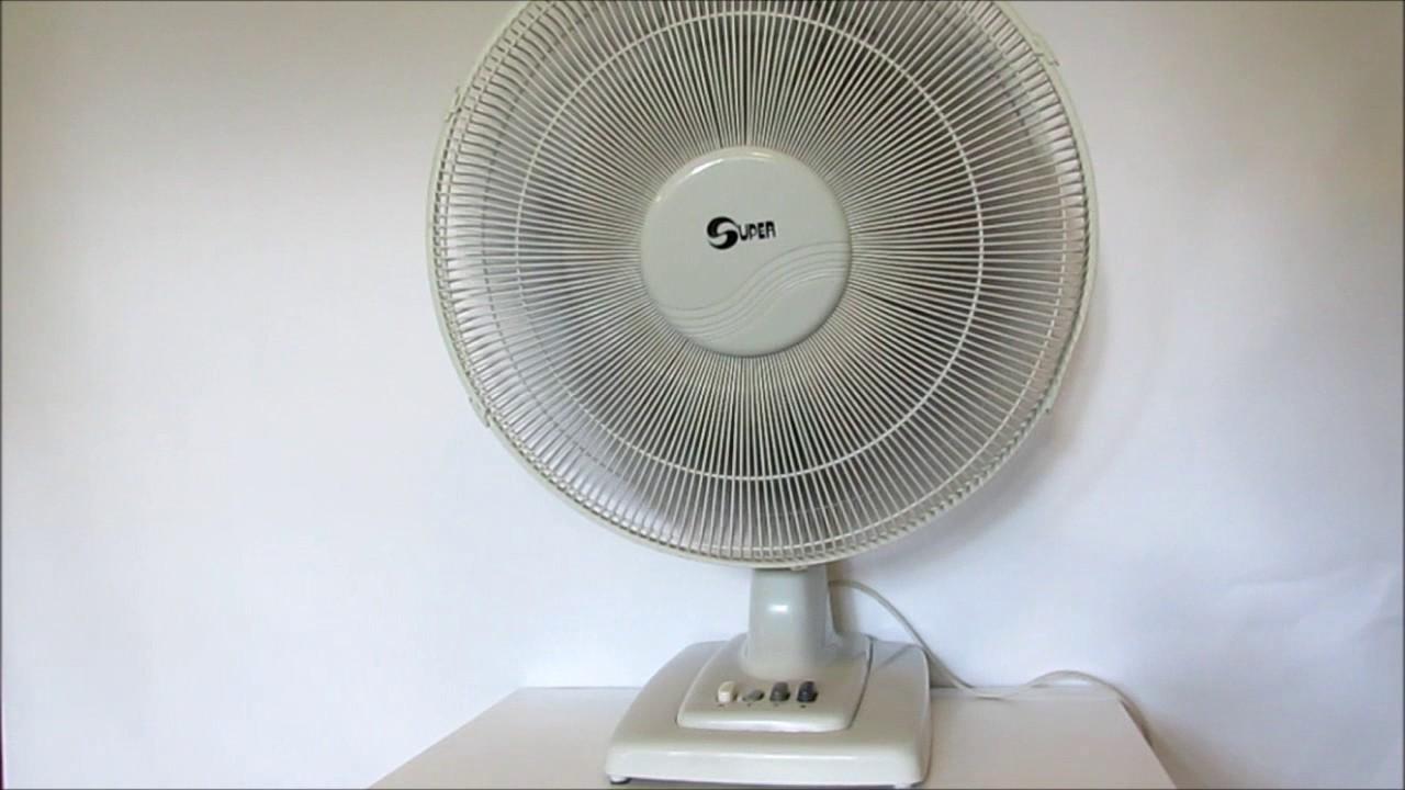 Gumtree Desk Fan : Super cm desk fan youtube