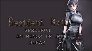 RESIDENT EVIL HD SPEEDRUN NORMAL EN DIRECTO 01 [JILL] [02:55:34]