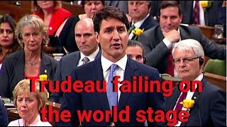 Trudeau failing on the world stage | Andrew Scheer