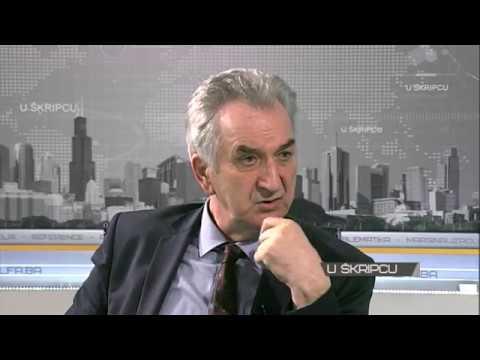 """""""U šripcu"""" TV Alfa: Mirko Šarović (29.01.2018.)"""
