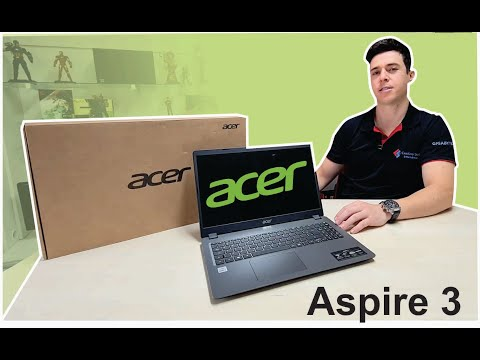NOTEBOOK ACER ASPIRE 3 i5 - unboxing