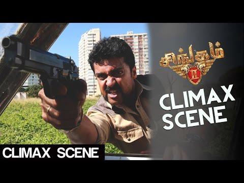 Singam 2 - Mass Climax Chase | Suriya, Anushka, Hansika | Hari