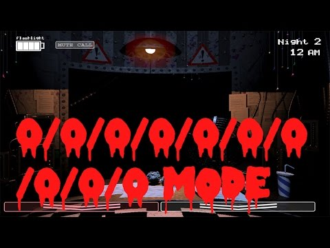 L-Effect | 0/0/0/0/0/0/0/0/0/0 MODE - THE TERROR IS REAL | Five Nights at Freddy's 2 | FNaF 2