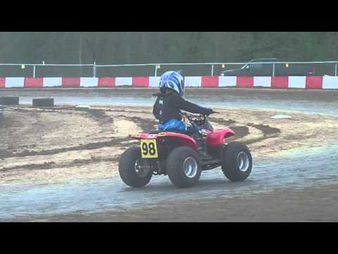 Main Circle track 50cc Kc Raceway 4/17/16