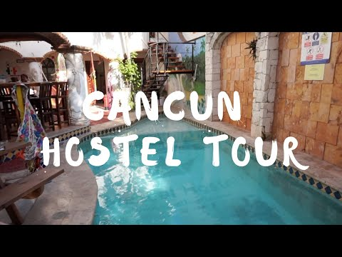 Cancun Hostel Tour