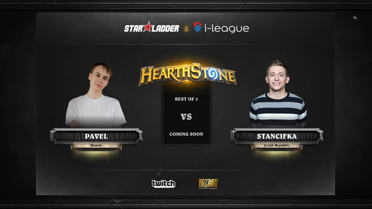 [EN] Pavel vs StanCifka | SL i-League Hearthstone StarSeries Season 3 (29.05.2017)
