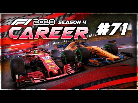 CONTROVERSIAL ENDING TO THE RACE! - F1 2018 Career Mode Part 71