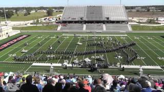 Barbers Hill High School Band 2015 - UIL 5A Area F Marching Contest