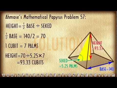 PYRAMID MATHEMATICS: Calculating the SEKED