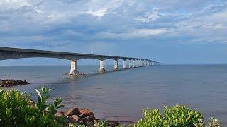 Мост Конфедерации – достопримечательность Канады(Мост Конфедерации - мост, соединяющий канадские провинции - остров Принца Эдварда и Нью-Брансуик находящуюс..., 2016-03-04T01:34:05.000Z)