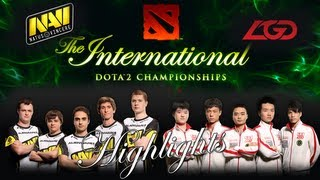 TI3 Highlights: Massacre at the top lane Na`Vi vs LGD