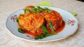 Домашние видео-рецепты - рыба с томатным соусом в мультиварке