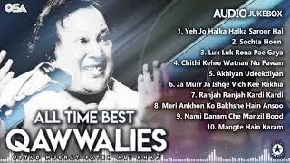 All Time Best Qawwalies | Audio Jukebox | Nusrat Fateh Ali Khan | Complete Qawwalies | OSA Worldwide