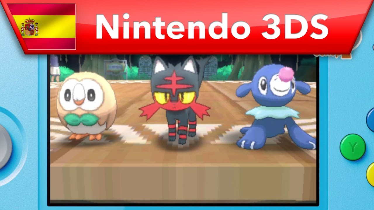 Pokemon Sol Pokemon Luna Hazte Con Todos Nintendo 3ds Youtube