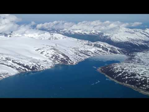 Widerøe Norge minutt for minutt. Mo i Rana Svartisen til Bodø