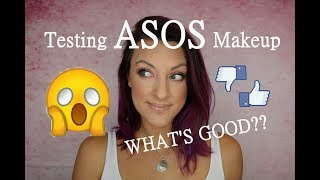 NEW ASOS makeup brand! Testing, demo, and first impressions!