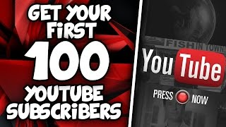 How to Get your First 100 Subscribers on YouTube in JUST 1 WEEK!
