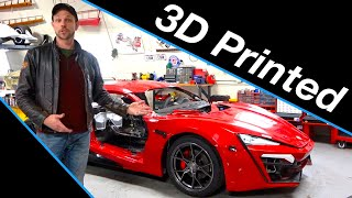 3D Printing | Lykan Hypersport build #8 from Fast and the Furious Live Stunt Car