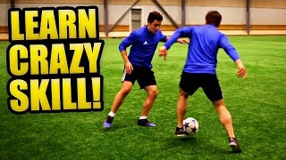 Learn CRAZY Football Skill To IMPRESS Your Friends! ★