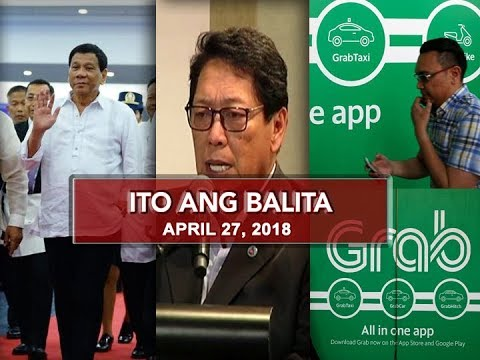 UNTV: Ito Ang Balita (April 27, 2018)