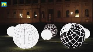 München: Lichtaktion im Kunstareal verbindet Kunst...