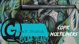 Copic Multiliners Featuring Jen Baranovic