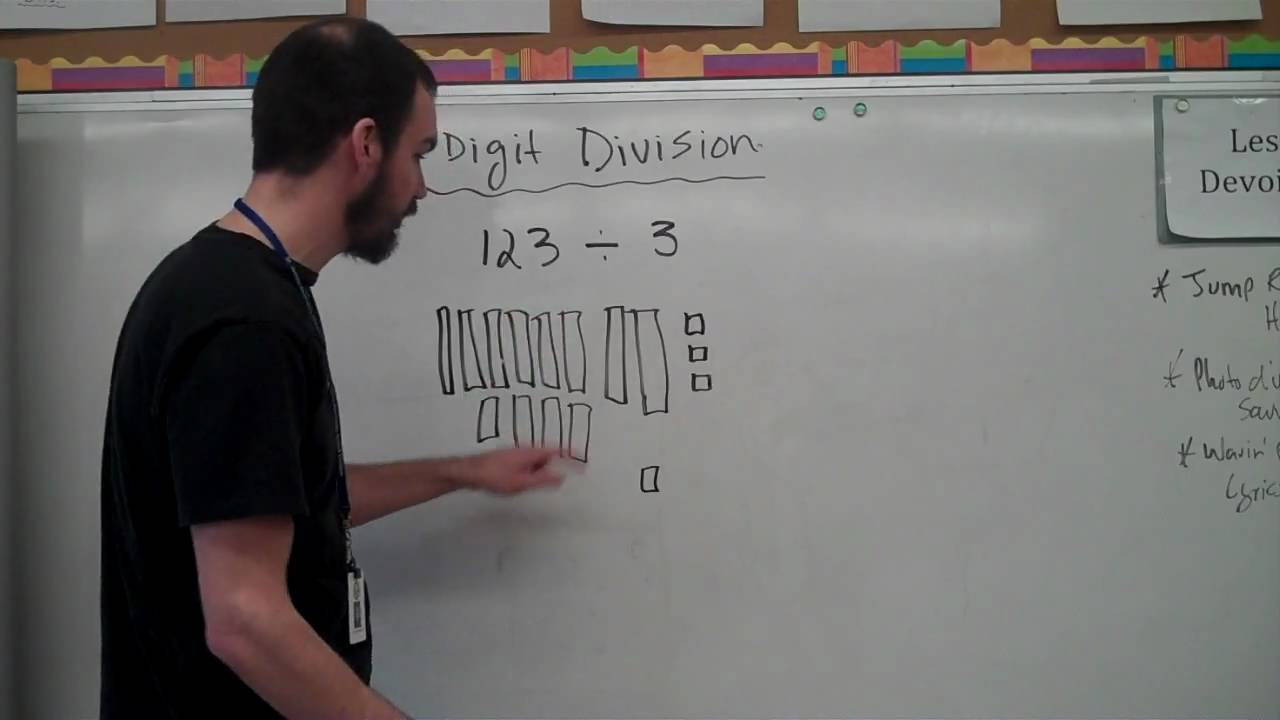 worksheet 3 Digit Division 3 digit division youtube