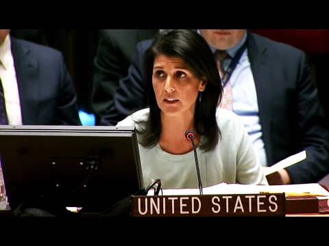 OOOOKKKAAAYYYYYY: Nikki Haley Condemns Russian Actions at the United Nations
