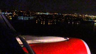 Plane Landing in New York City
