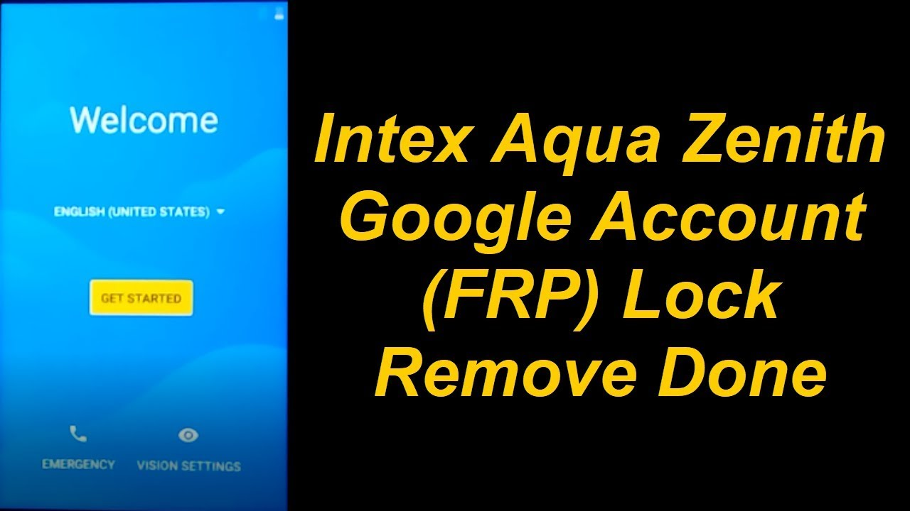 Intex Aqua Zenith Pattern, & FRP (Google Account) Lock & Full Flashing  Guide (Android 7 0) by Mobile Solution Point