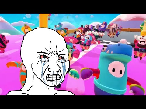 Fall Guys Part 2 You will Rage! เกมหัวร้อน from YouTube · Duration:  8 minutes 35 seconds