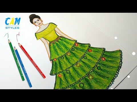 How To Draw Princess Cinderella Step By Step Youtube