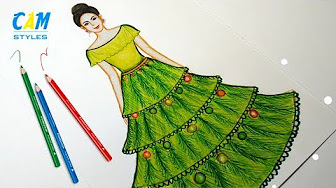 59cc25983 My dresses and designs - YouTube