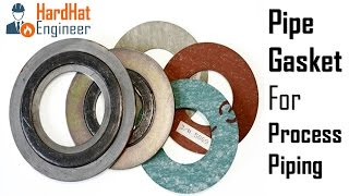 Pipe Gaskets for Process Piping (Spiral, RTJ, Metal Jacketed, Oring)