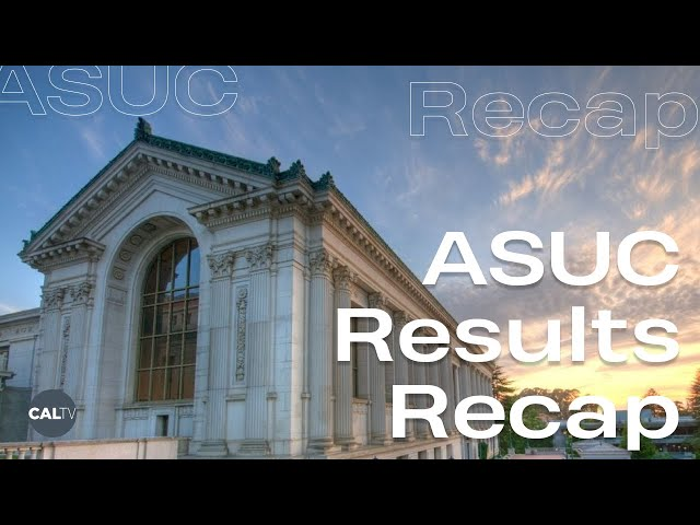 ASUC Results Recap | CalTV News