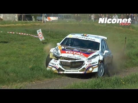 Rallye de Wallonie 2017 (HD) CRASH & MISTAKES - Flashencote.fr