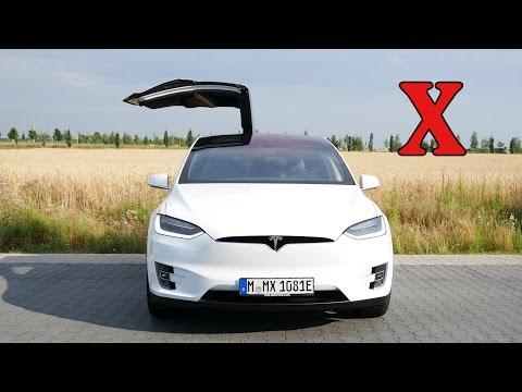 Tesla Model X in Deutschland - Erster Eindruck von Model S Fahrer