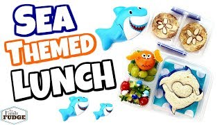 🐬 Sea Themed lunch Idea ☀️Bunches Of Lunches 🐬