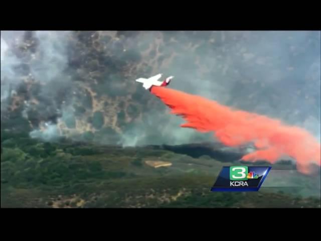Regional wildfires keep Cal Fire air crews busy at McClellan Airfield