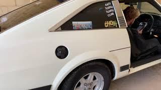 Modified Nissan 280zx test drive