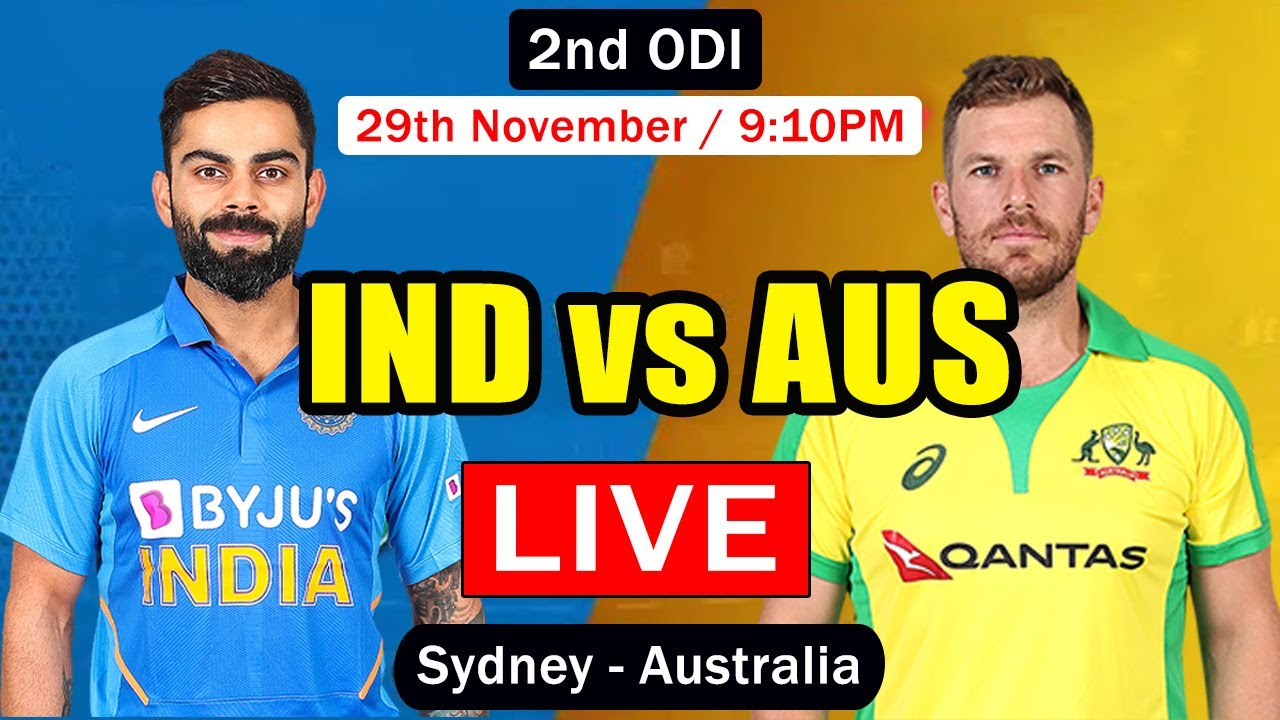 IND vs AUS 2nd ODI LIVE from Sydney | India vs Australia Live Cricket Scorecard | TAMIL Commentary
