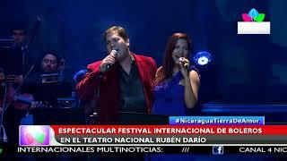 Multinoticias | Espectacular festival internacional de boleros en el Teatro Nacional Rubén Darío