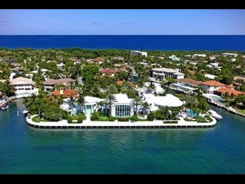 Boca Raton Real Estate Luxury Waterfront Homes 700 Coquina Way