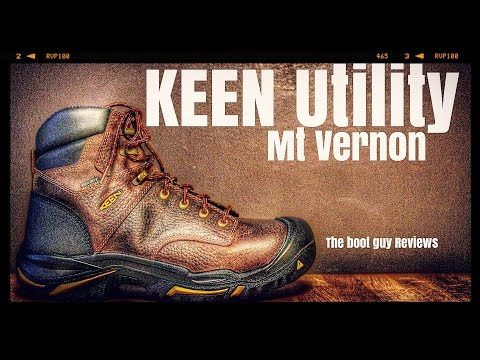 "KEEN Utility MT VERNON 6"" (SOFT TOE) # 1014600 [ The Boot Guy Reviews ]"