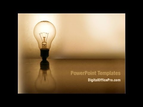 light bulb powerpoint template backgrounds - digitalofficepro, Powerpoint templates