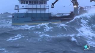 Josh Harris Struggles with Typhoon Nuri  Deadliest Catch