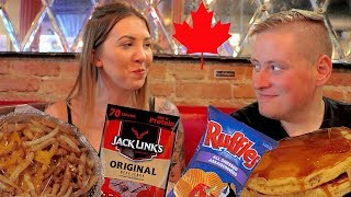 Does She Like It? British Girl Tries Canadian Food