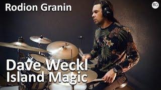 Обучение игре на барабанах в Красноярске - Родион Гранин - Dave Weckl - Island Magic