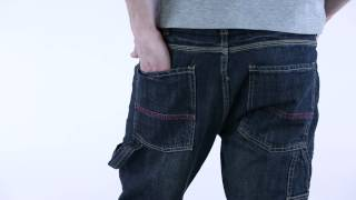 Mens tapered jean